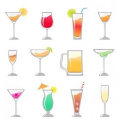 Birthday party drink vector