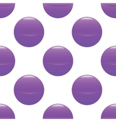 Violet ball pattern vector
