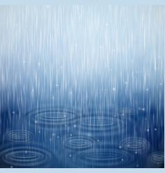 A rainy day vector