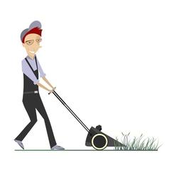 Lawnmower vector