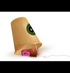 Chocolate trap vector