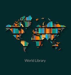 World library vector