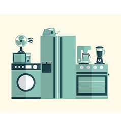 Kitchen concept vector