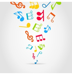 Music wind vector