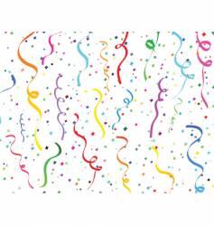 Confetti design vector