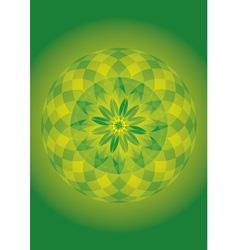 Mandala of forest spirit vector
