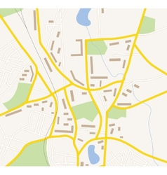 Navigation map vector