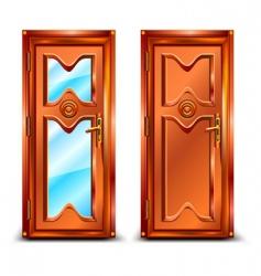 Door closed vector