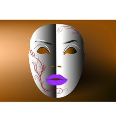 Decorative mask vector
