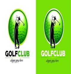 Golf logo design vector