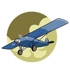 Classic airplane2 vector