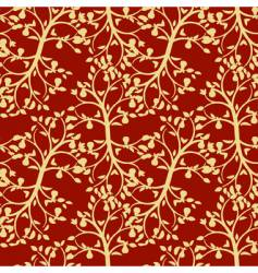 Foliage seamless background vector