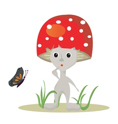 Surprise toadstool vector