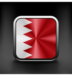 Original and simple bahrain flag isolated in vector