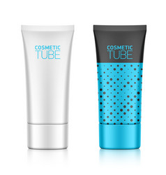Cosmetic tube vector