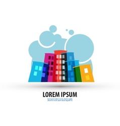 City logo design template building or construction vector