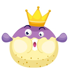 Isolated king blowfish vector