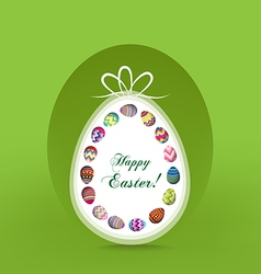 Happy easter vector