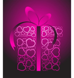 Love present box vector