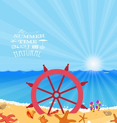 Summer holiday enjoy vector