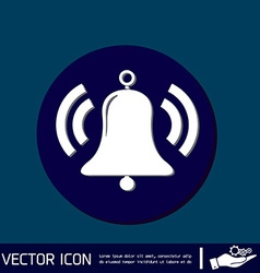 Ring bell icon eps vector