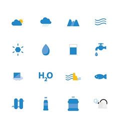 Icon water vector