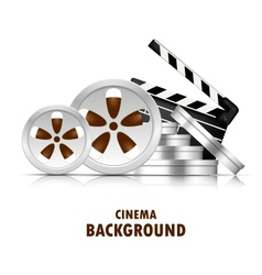 Cinema background vector