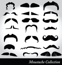 Moustaches vector