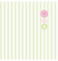 Seamless pink and green background collection for vector