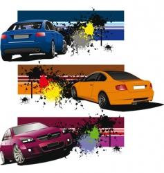 Sports car vector