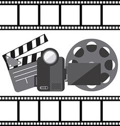 Film concept vector