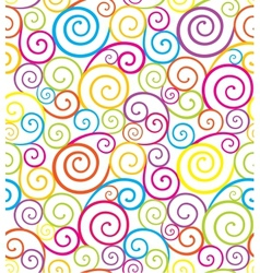 Swirl seamless composition vector