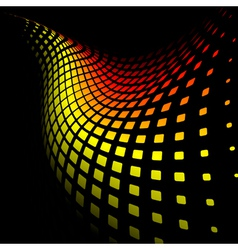 3d abstract dynamic background vector