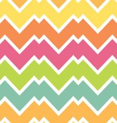 Candy colors chevron vector