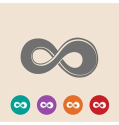 The symbol of infinity vector