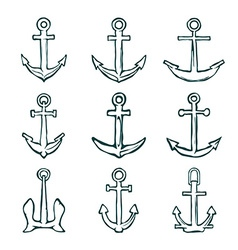Set of anchors vector