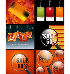 Sale designs vector