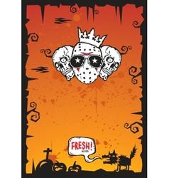 Halloween background 2012 vector