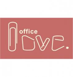 Office love vector