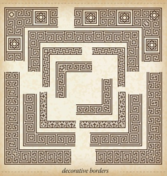 2930 maze cornerseamless maze border simple to use vector