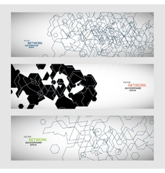 Set three sets of abstract contour lines vector