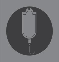 Current saline shortage icon symbol vector