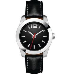 Man's watch vector