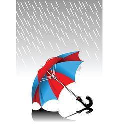 Lost umbrella vector