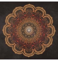 Mandala card 2 vector