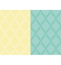 Set pattern vintage seamless old royal desktop vector