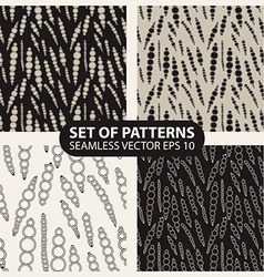 Graphical abstract seamless pattern of circles vector