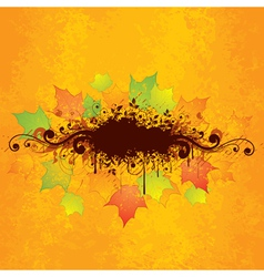 Abstract autumn graphic vector