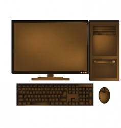Chocolate computer vector