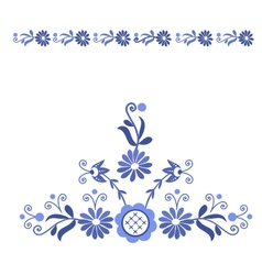 Folk pattern decor-a vector